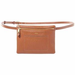 Lauren Ralph Lauren Winston Brown Belt Bag